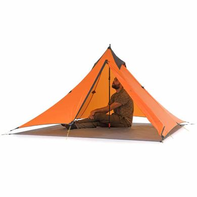 Палатка Naturehike Pyramid I (1-местная) 20D silicone NH17T030-L Orange