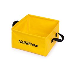 Ведро складное Naturehike Square bucket 13л NH19SJ007 Yellow
