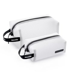 Косметичка Mesh toiletry bag Q-9A Naturehike NH19SN010 White
